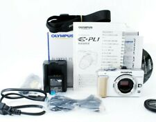 Excellent+5 in BOX Olympus PEN E-PL1 12.3MP White only Body tested From Japan