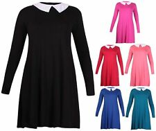 Stretch Collared Tops & Shirts Plus Size for Women