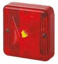 Sonora ST LED Beacon, Red LED, Flashing or Steady Light Effect, 24 V dc