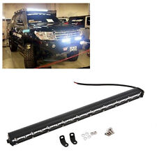 19 Inch 54W CREE LED Slim Work Light Bar Spot Flood Combo Off-Road Driving SUVF0
