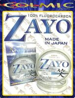 Fluorcarbon 100% Made in Japan Colmic Zayo ø0,16->ø0,52