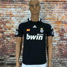 Adidas Real Madrid 100% Original Jersey Shirt 2008/09 CL Away Rare Size S