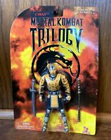 Cyrax Vintage Mortal Kombat Trilogy Action Figure New MOC 1998 Toy Island Robot