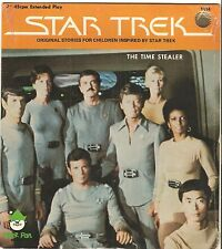 STAR TREK The Time Stealer story record orig 45 w/picture sleeve 1979 SEALED!