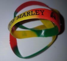 - Show Your Colours Jamaica/Rasta/Red,Green & Gold Silicone Wristband/Bracelet