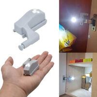 Cabinet Cupboard Closet Wardrobe Kitchen Closet Inner Hinge LED Sensor Light UK