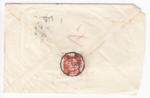 """CHINA 1955-56 8f orange-red """"Foundry Worker"""" Cover 1958 - Postal History"""
