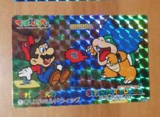 SUPER MARIO WORLD BANPRESTO CARDDASS CARD PRISM CARTE 1 NITENDO JAPAN 1993 **