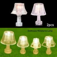 Accessories Doll House Light Table Lamp Bedroom Floor Lamps Mini Lighting