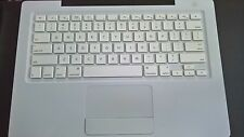 "Grade A-  Top Case Keyboard Assembly w/ Trackpad  Macbook 13"" A1181. 2008, 2009"