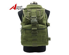 Olive OD Molle Tactical 40L Military Assault Backpack Outdoor Camping Hiking Bag