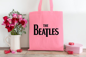 The Beatles Tote Bag Eco 100% Cotton Shoulder Long Handle Shopping for Life