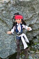 pirates of the caribbean - monster high ooak, monster high repaint, Jack Sparrow
