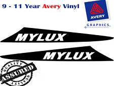 MYLUX Decal Sticker For Hilux 2 Fin Small Bonnet Scoop 2005 TO 2011 4X4