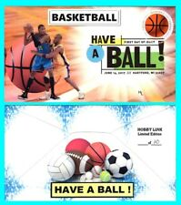 Basketball Have a Ball First Day Cover with Color Cancel