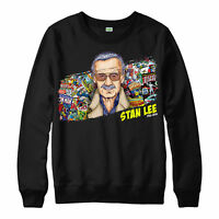 Marvel Poster Stan Lee Jumper Avengers Superhero Unisex Adult & Kids Jumper Top