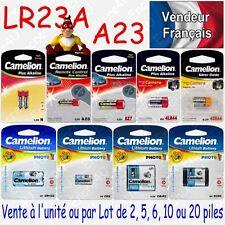 Piles pour télécommandes : LR23A A23 V23GA MN21 GP23A 12V - Livraison Gratuite