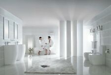 """Bathroom Pedestal Sink - Modern White Pedestal Sink - Altier - 18.5"""""""