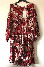 JOHANNA ORTIZ H&M Flounce Dress Tunic Palm Leaf BLOGGERS SIZE 22 SOLD OUT BNWT