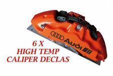 AUDI Brake Caliper Decal   sticker