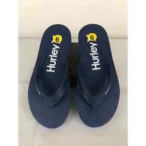 Men's flip flops navy blue Hurley 9 New