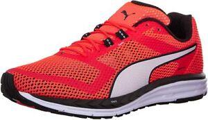 Puma Men's Speed 500 Ignite Running Shoe, Red Blast/White/Black, 9 D(M) US