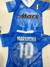 1 maglia t-shirt maradona 0 anni  neonato football calcio camiseta zero anos