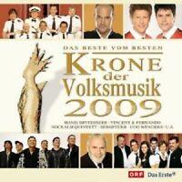DIE KRONE DER VOLKSMUSIK 2009 2 CD HANSI HINTERSEER UVM