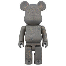Medicom toy Be@rbrick  Karimoku Crack Print Wooden 400% CJ Mart Wood Bearbrick