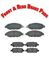 Brake Pads for Infiniti JX35 13 QX60 14-17 Nissan Murano 15-16 Pathfinder 13-16