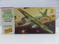 Lindberg ARADO AR-234B WWII German Bomber 1/72 Scale Plastic Model Kit UNBUILT