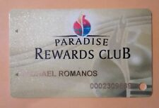 Agua Caliente - Spa Casino Hard To Find Slot Card Great For Any Collection