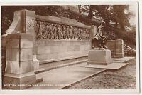 Vintage Scottish American War Memorial, Edinburgh POSTCARD 1936 World War I
