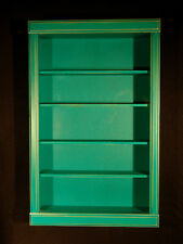 Special Order COLOR of your CHOICE - WALL CURIO CABINET SHADOW BOX  DISPLAY CASE