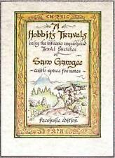 A HOBBIT'S TRAVELS by Sam Gamgee LORD OF THE RINGS Tolkien PARCHMENT JOURNAL