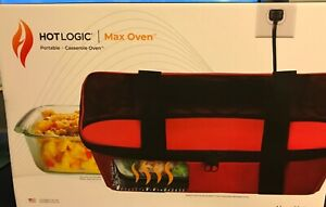 Hotlogic Max Oven Portable Casserole Oven. Red. Brand new/ sealed!