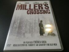 "DVD ""MILLER'S CROSSING"" Gabriel BYRNE, John TURTURRO / Ethan & Joel COHEN"