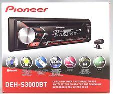 Pioneer DEH-S3000BT CD-Tiner mit RDS,Bluetooth,USB,MP3,AUX,1DIN-Gerät