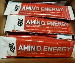 ***EXP JUNE 2020*** 24x Pack Amino Energy Fruit Fusion Optimum Nutrition