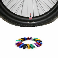 10x Bike Bicycle Fixie Presta Wheel Rim Tyre Stem Air Valve Cap Dust VvV