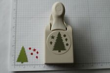 Martha Stewart Christmas Tree with Presents Punch - Rare - HTF