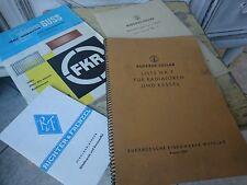 alte Prospekte Katalog Heizung Buderus Kessel Radiatoren 50er