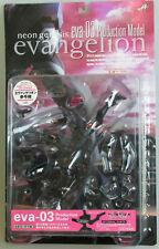 Kaiyodo Neon Genesis Evangelion Eva-03 test type action figure Xebec Toys Japan
