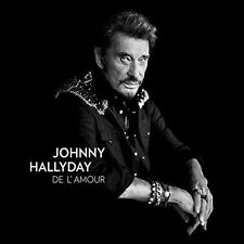JOHNNY HALLYDAY - DE L' AMOUR NEW VINYL RECORD