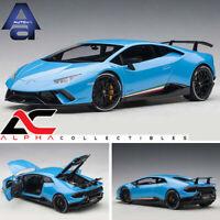 AUTOART 79153 1:18 LAMBORGHINI HURACAN PERFORMANTE PEARL BLUE