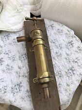 More details for antique / vintage brass pump