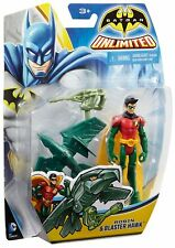 BATMAN UNLIMITED Robin 10 cm con Falco d'Attacco - Mattel cgn50