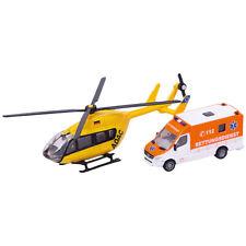 Siku 1850 Rettungsdienst Set mit Hubschrauber