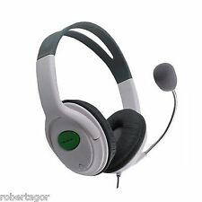 Headphones Audio Microphone Headset Compatible for Xbox 360 Live Earphone