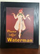 "Parapluie-Revel Art & Plume ""Ideal""Waterman Art on Black Platform Good Both"